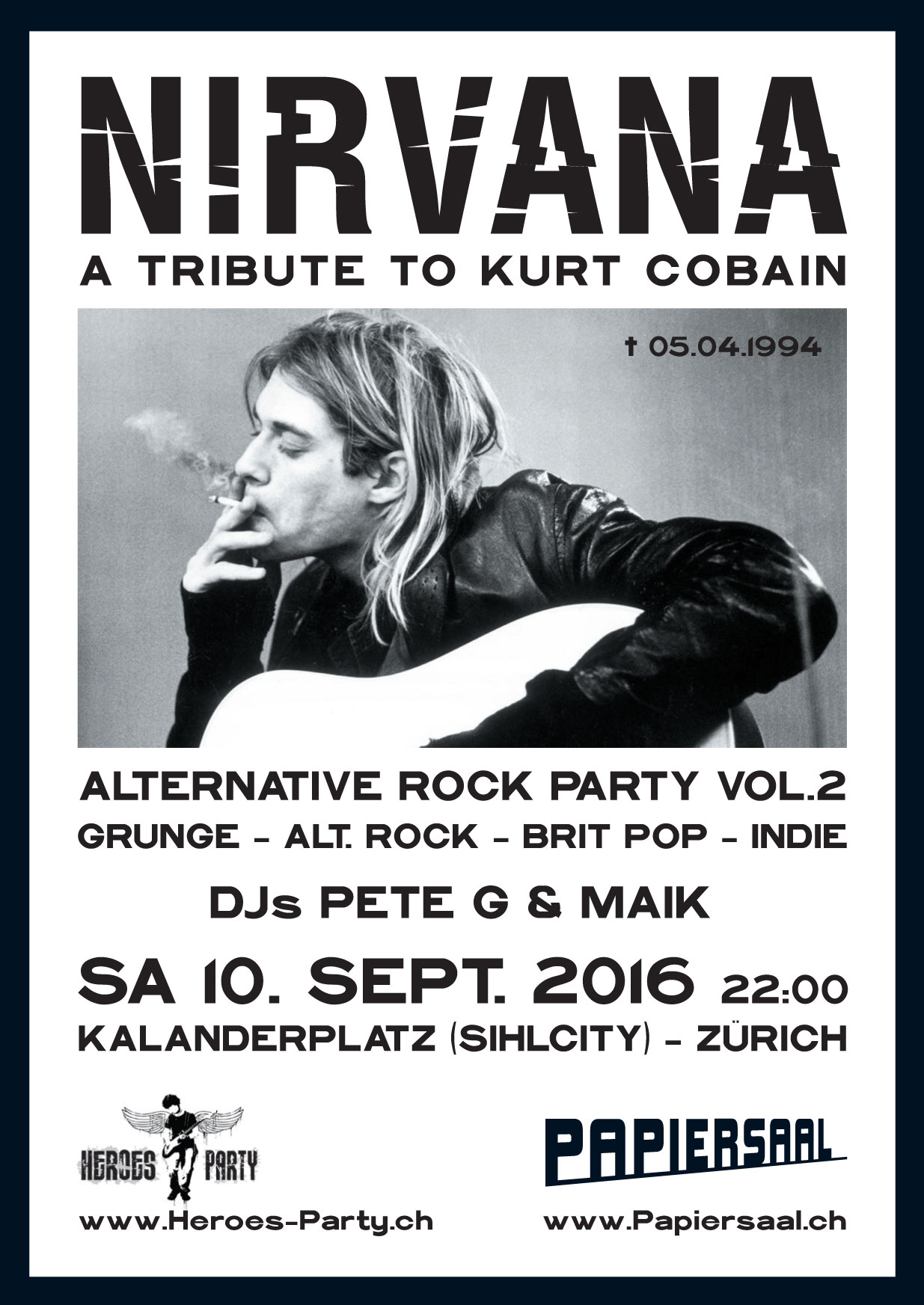 Tribute To Kurt Cobain Nirvana